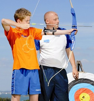 Dreyfus Kentucky archery lessons