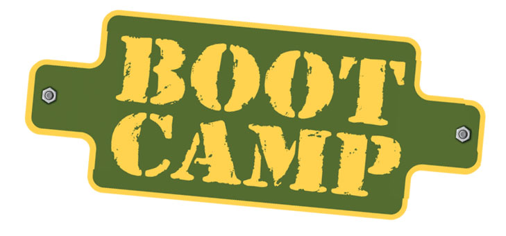 Hayden Lake boot camp